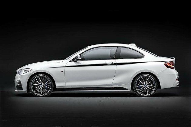 2系列M Performance改裝19吋輕量化鋁圈。 BMW提供