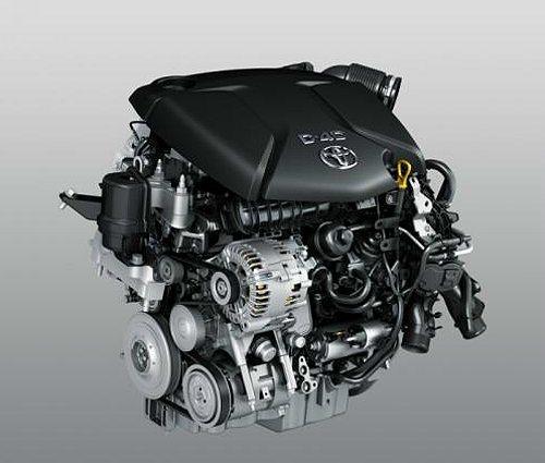 1.6 D-4D柴油引擎可輸出111hp/4000rpm最大馬力、27.5kgm...