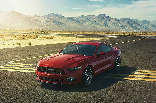 新世代Ford Mustang正式釋出官方照。 Ford提供