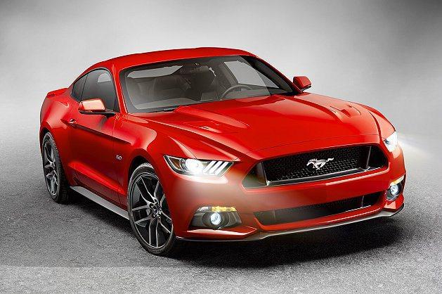 Mustang整體外型更具侵略性、動感與更有流線設計感。 Ford提供