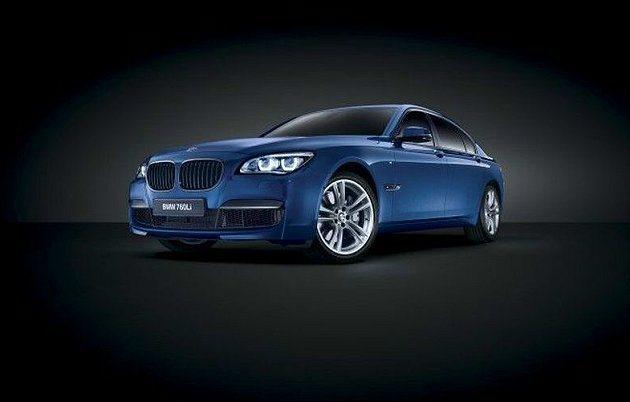 專為中東地區推出的BMW 760Li V12 M Bi-Turbo特別版。 BM...