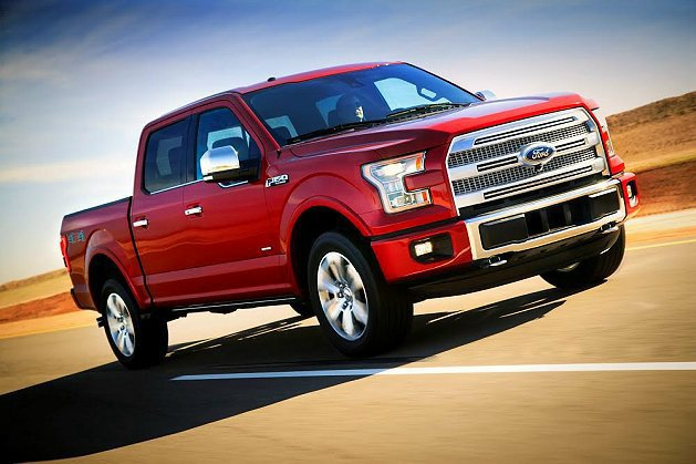 全新Ford F-150兼具低油耗、大馬力、智慧科技。 Ford提供
