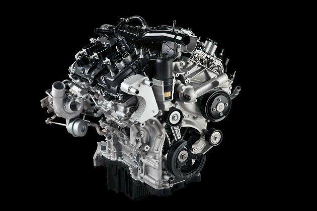 全新Ford F-150皮卡休旅車搭載Ford最新研發2.7升EcoBoost®...
