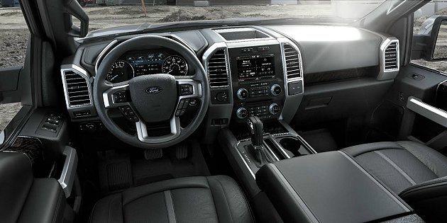 全新Ford F-150皮卡休旅車導入SYNC® with MyFord Tou...