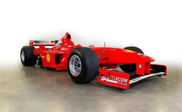 F300賽車Schumacher駕駛過38次。 Ferrari提供
