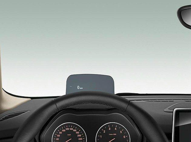 2 Series Active Tourer是首部配備抬頭顯示器的豪華小型轎旅車...