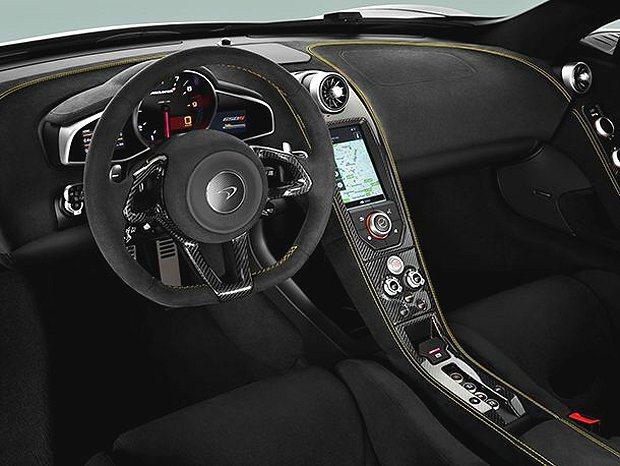 全新設計的內飾、還有彩色顯示幕。 McLaren