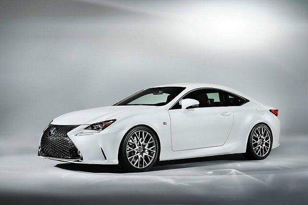 Lexus在日內瓦車展全球首發全新性能化轎跑車RC 350 F SPORT。 L...
