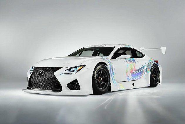 RC F GT3的動力以RC F的5.0升V8引擎加以調校,最大馬力提升為540...