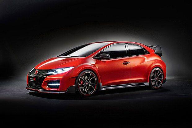 Civic高性能版本Civic Type-R概念車舉行全球首發。 Honda提供