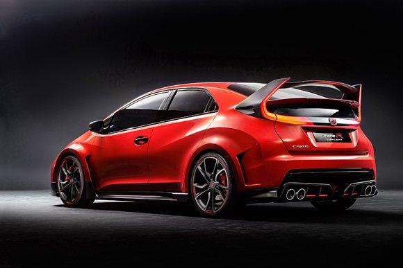 本田強調Civic Type-R是一台公路版的賽車。 Honda提供