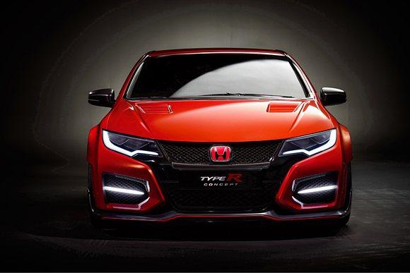 Civic Type-R Concept保有一般公路車款應有的樣貌和Typr-R...