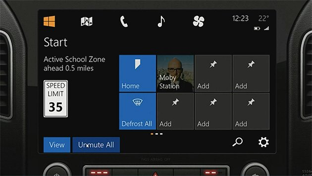 Windows in the car挑戰蘋果的CarPlay。 Microsof...