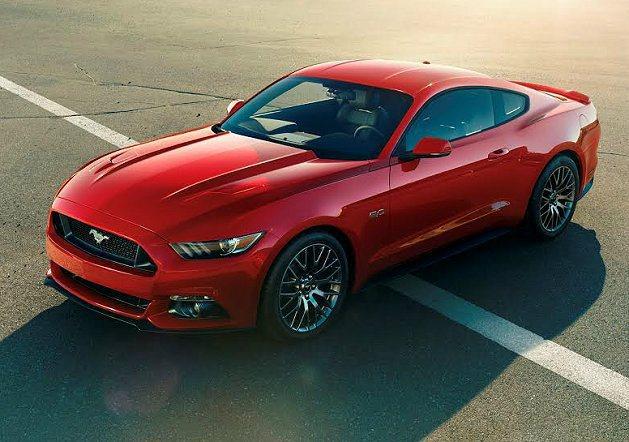 全新第6代Ford Mustang。 Ford提供