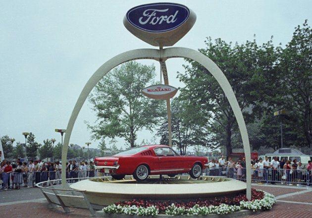 全新第6代Mustang即將重返拉法盛會展中心的可樂娜公園,再現1964年世界博...