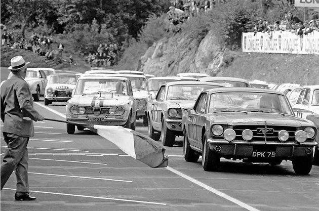 Ford Mustang 50歲生日進入最後倒數,全球車迷踏上長征之旅,齊聚北美...