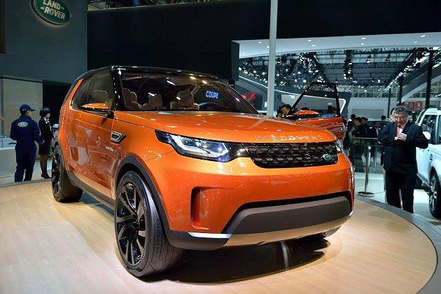 Land Rover首度推出全新Discovery Vision概念休旅車,在北...