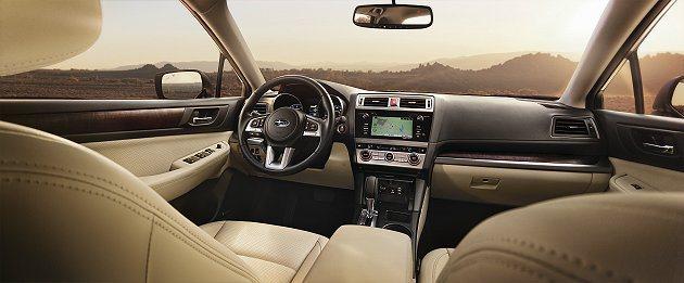A柱接合前移,傾角更大創造更寬廣視野 Subaru提供