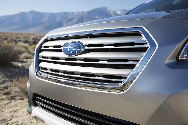 沿襲與New Legecy相同的六角式水箱護罩是家族新識別 Subaru提供