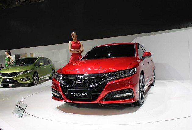 全新Spirior概念車北京車展首發。 Honda提供