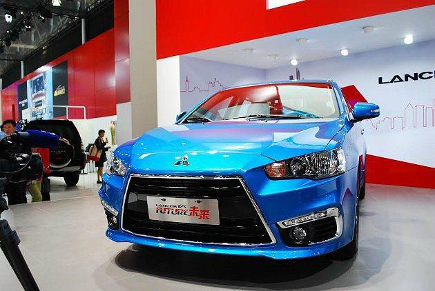 Lancer EX Future概念車,5月也將在台灣首發。 記者趙惠群/攝影