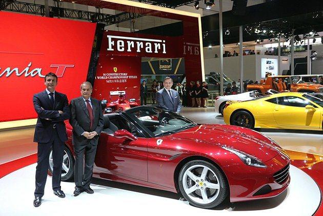 北京車展法拉利為California T舉辦大中華區首發。 Ferrari提供
