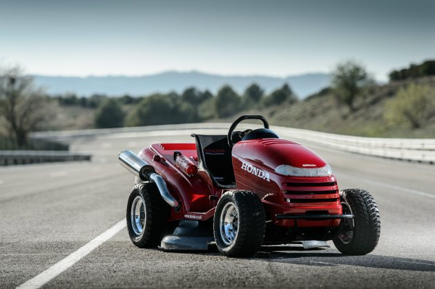 熱血改裝的Honda割草機Mean Mower Honda提供