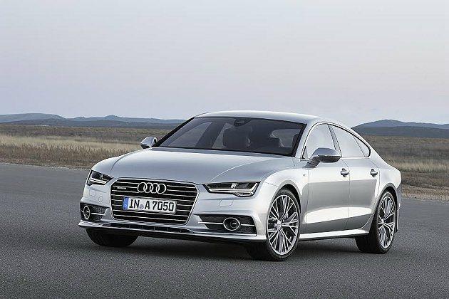 A7 Sportback大量採用鋁合金與高張力鋼板打造輕量化車體。 Audi提供