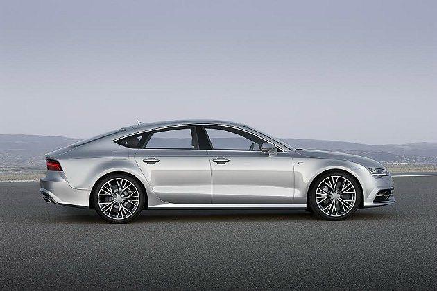 A7 Sportback擁有4790mm的車長,格外修長流線。 Audi提供