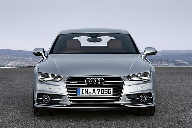 Audi 改款A7 Sportback有全新的LED頭燈和前保桿,單體式盾形水箱...