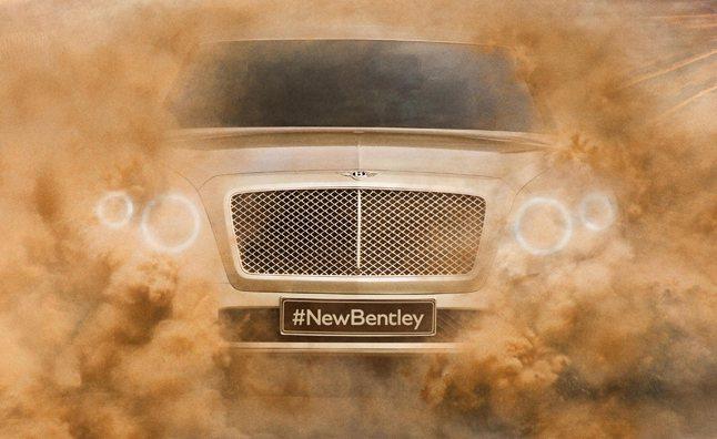 Bentley也正在開發旗下首輛豪華休旅車,計畫2016年推出。 Bentley
