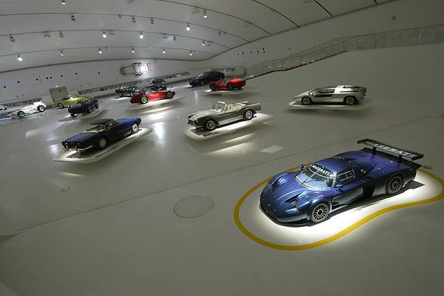 Maserati百年展現場。 Maserati提供