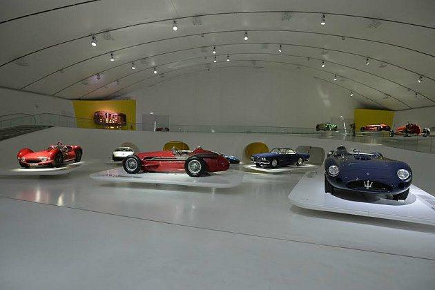 展覽期間,長期展出的有21輛Maserati 汽車,而在為期6個月的展出中,總共...
