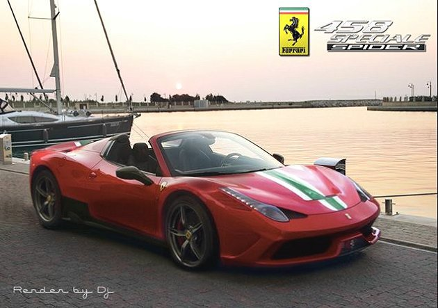458 Speciale的敞篷版458 Speciale Spider,預計今年...
