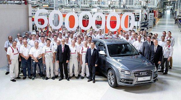 Audi第600萬輛quattro車型正式下線。 Audi提供