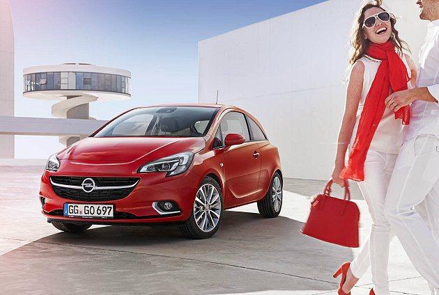 全新第五代Opel Corsa將在今年10月的巴黎車展進行首發。 Opel提供