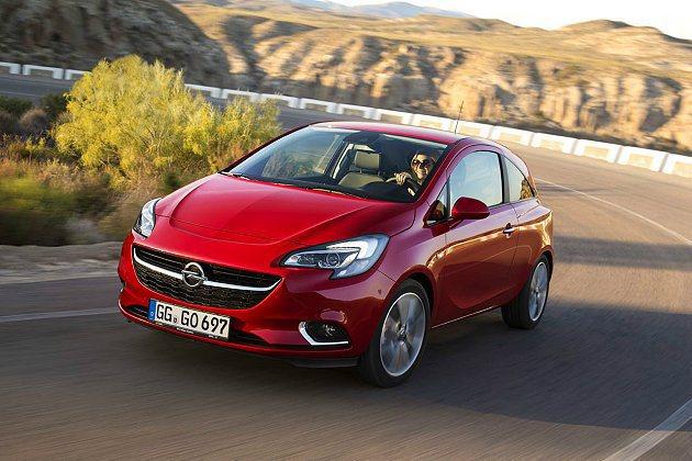 新世代Corsa提供多種動力選擇。 Opel提供