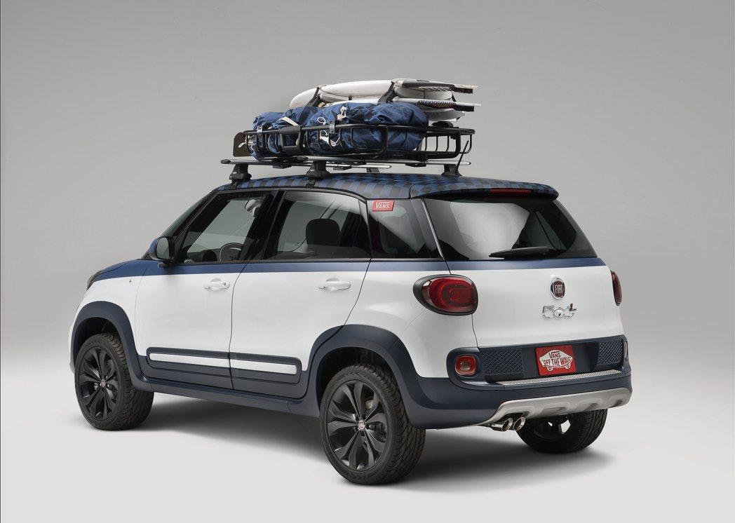 Fiat 500L Vans Concept FIAT提供