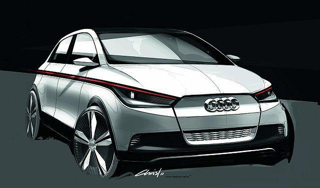 Audi A2 EV Concept 。 Audi提供