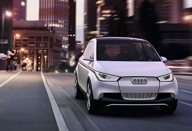 2011年發表的A2概念車。 Audi提供