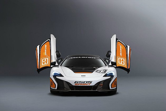 650S Sprint有更優化的空力套件、較低的車身高度、車身減輕。 McLar...