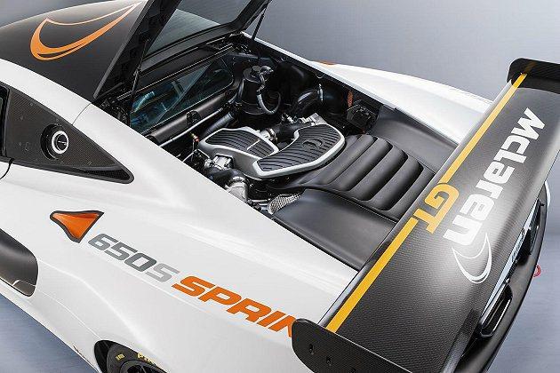 3.8升V8雙渦輪增壓引擎,可輸出650hp最大馬力。 McLaren提供