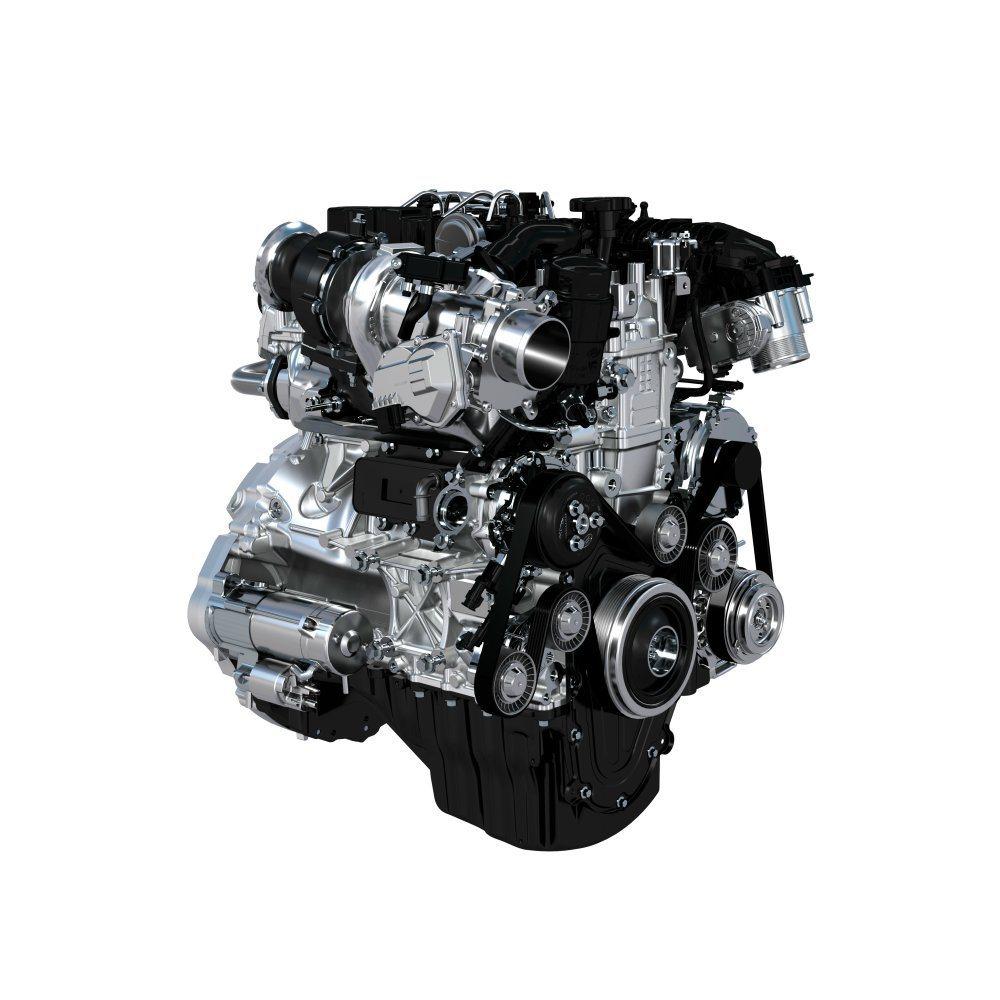 Ingenium引擎是Jaguar重要動力心臟,廣泛應用在旗下車款。 摘自Jag...