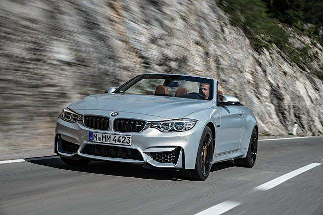 BMW M4 Convertible敞篷車推出個人化套件。 BMW提供
