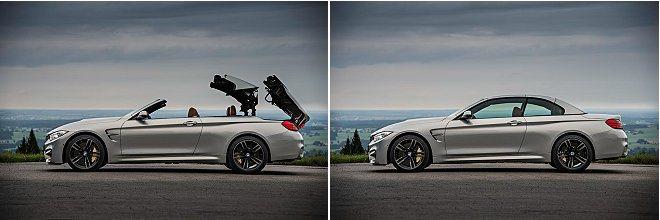 電動硬頂收閤可在20秒內完成。 BMW提供
