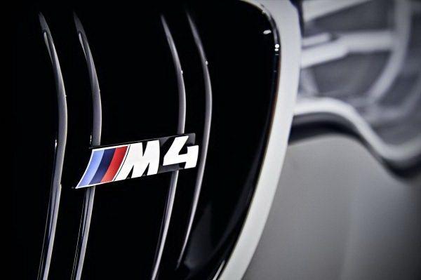 水箱護罩上的M4徽飾。 BMW提供