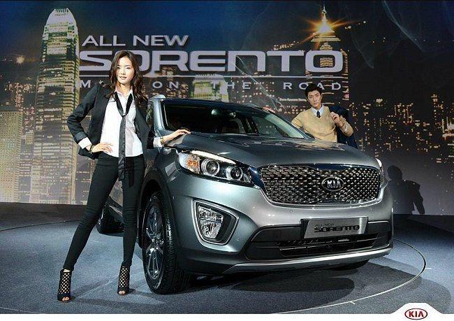 第三代Kia Sorento率先在韓國發表。 Kia提供