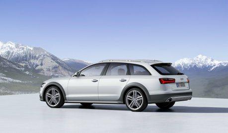 全新Audi A6 Allroad首次偽裝亮相 歐陸山區測試中
