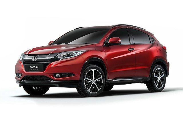 日本Honda將推出接近量產的歐規HR-V原型車,10月巴黎車展亮相。 Hond...