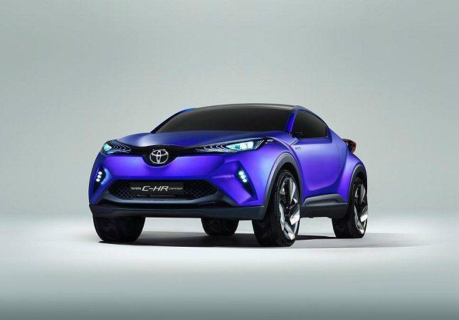 Toyota全新小型SUV概念車C-HR。 Toyota提供